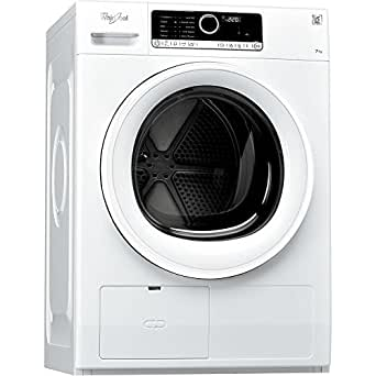 Whirlpool HSCX7 0310 freestanding Front-load 7kg A+ White - Tumble Dryers (Freestanding, Front-load, Condensation, White, Buttons, Touch, 121 L)