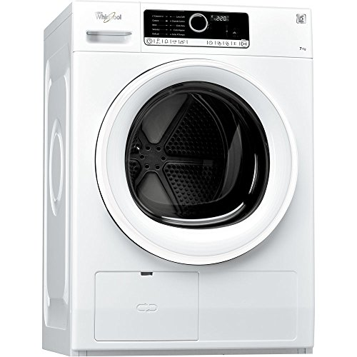 Whirlpool HSCX 70310 freestanding Front-load 7kg A+ White - Tumble Dryer (Autonomous, Front Load, Condensation, White, Buttons, Touch, 121 L)