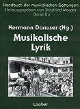 Handbuch der musikalischen Gattungen / Musikalische Lyrik: Lied und vokale Ensemblekunst. Teilband 2: Vom 19. Jahrhundert bis zur Gegenwart – Außereuropäische Perspektiven
