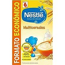 Nestlé - Multicereales - Papilla de cereales instantánea de fácil disolución ...