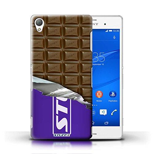 Kobalt® Imprimé Etui / Coque pour Sony Xperia Z3 / Flake/Flocon conception / Série Chocolat Blocs Dairy Milk