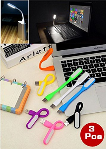 USB LED Light for PC, Mobile Phones (Colors May Vary)
