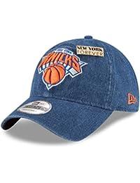 c4120bc77ac New Era New York Knicks 2018 NBA Draft 9TWENTY Adjustable Cap Blue Denim