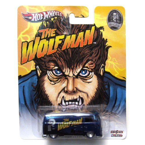 VOLKSWAGEN T1 Panel Bus die Wolfman Universal Studios Hot Wheels Fahrzeug (Volkswagen T1 Panel-bus)