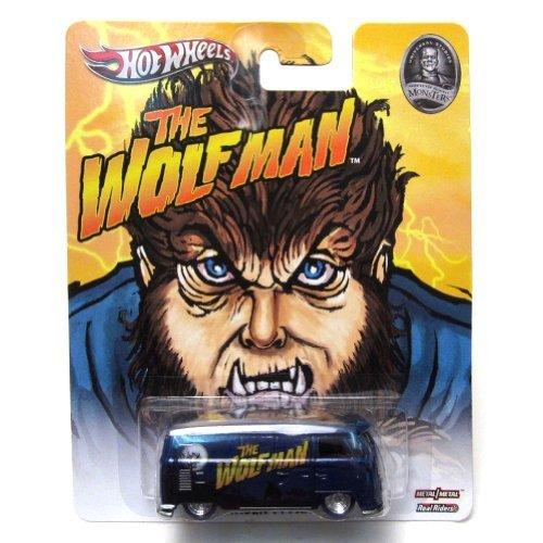 VOLKSWAGEN T1Panel Bus die Wolfman Universal Studios Hot Wheels Fahrzeug (Volkswagen T1 Panel-bus)