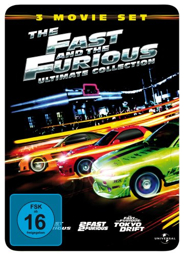 The Fast and the Furious 1 - 3 (Ultimate Collection, 3 DVDs im Steelbook- limited Edtion) [Limited Edition]