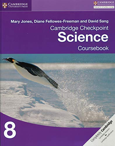 Cambridge checkpoint science. Coursebook. Per le Scuole superiori. Con espansione online: 8 (Cambridge International Examin)