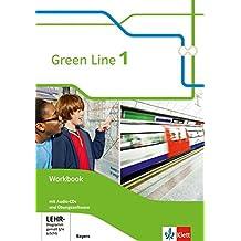 Green Line / Ausgabe Bayern ab 2017: Green Line / Workbook mit 2 Audio-CDs und Übungssoftware 1: Ausgabe Bayern ab 2017