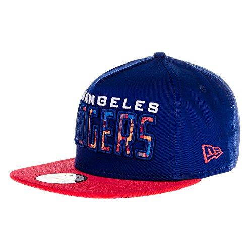 New Era LA Dodgers Snapback Casquette Sport (Bleu) - Medium / Large