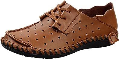 rismart Uomo Cavo Cucitura Estate Comfort Sneaker Scarpe
