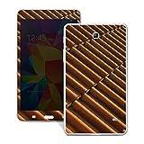 Samsung Galaxy Tab 4 7.0 Case Skin Sticker aus Vinyl-Folie Aufkleber Dachziegel Ziegel Look Muster