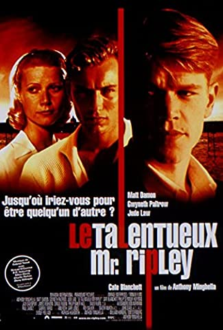 Le Talentueux Mr. Ripley - Matt Daman - 116X158Cm Affiche Cinema Originale