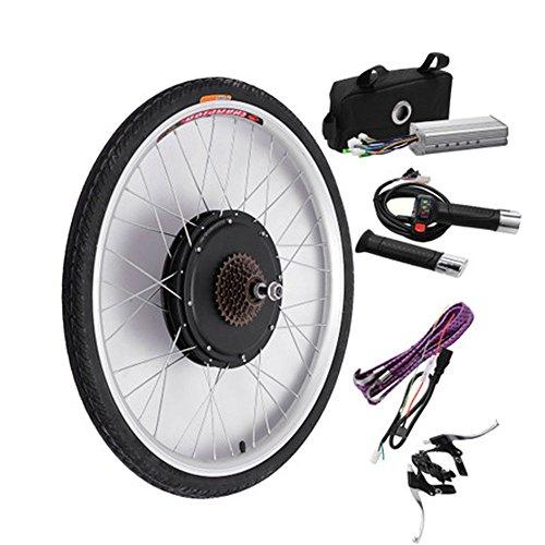 Kit de conversión de motor eléctrico de rueda trasera para bicicleta (48 V y 1000 W), pantalla LCD/LED, 66 x 4,95 cm), Hombre, LCD Display
