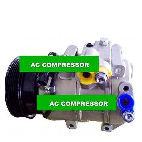 Gowe Auto AC Compresseur pour 6sbu16Auto AC Compresseur pour voiture Kia Rondo A/C Compresseur et d'embrayage pour Kia Rondo 2007–2010977011d200