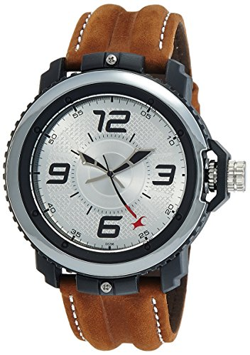Fastrack Analog Silver Dial Men's Watch-NG38017PL02CJ
