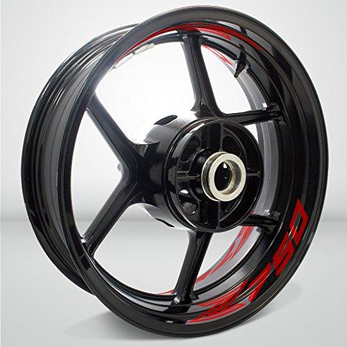kit con tubo di scarico per moto Kawasaki Z750 2007-2012 Toro Exhausts T1-GP-0204-KAW-07 T1 GP spazzolato acciaio inox//carbonio