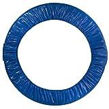 Obere Bounce, rund, faltbar Trampolin Sicherheit Pad (Spring Cover), UBPADF-36-B, blau, 36 Inch (91 cm)
