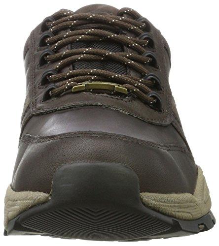 camel active Herren Evo GTX 20 Sneaker Braun (Mocca/Grey 4)