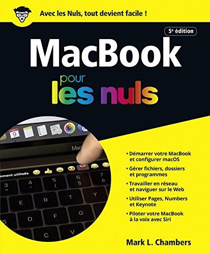 MacBook, 5e édition Pour les Nuls par Mark L. CHAMBERS