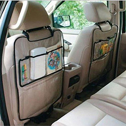 Amison Coche Auto Asiento Respaldo la cubierta del protector para los niños Kick Mat bolsa de