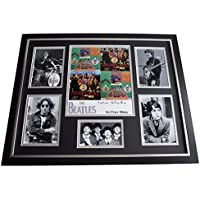 Sportagraphs Peter Blake SIGNED Framed Photo Autograph Huge display Beatles Music Artist COA Perfect GIFT