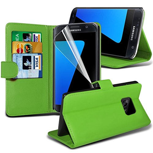 Étui pour HTC Desire 626 / HTC Desire 626 E5603, E5606, E5653 Titulaire de téléphone Case voiture universel Mont Cradle Tableau de bord et pare-brise pour iPhone yi -Tronixs S7 Edge Wallet ( Green )