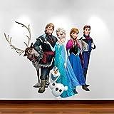 Best Disney Hair Dryers - Frozen Disney Full Colour Self Adhesive Vinyl Wall Review