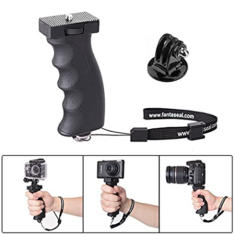 Fantaseal® Actionkamera Handgriff Action Camcorder Grip Ergonomisch Kameragriff Pistolengriff Grip