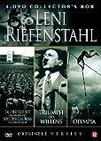 LENI RIEFENSTAHL Collector's Box (4 DVD): Tag Der Freiheit / Sieg Des Glaubens / Triumpf Des Willens / Olympia (original verfilmungen)