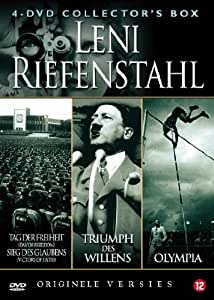 LENI RIEFENSTAHL Collector's Box (4 DVD): Day of Freedom (aka Tag Der Freiheit) / Victory of Faith (aka Sieg Des Glaubens) / Triumpf of the Will (aka Triumpf Des Willens) / Olympia [1933-1936]