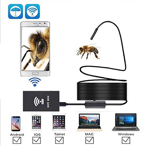 Nfudishpu Detector de oído con otoscopio USB