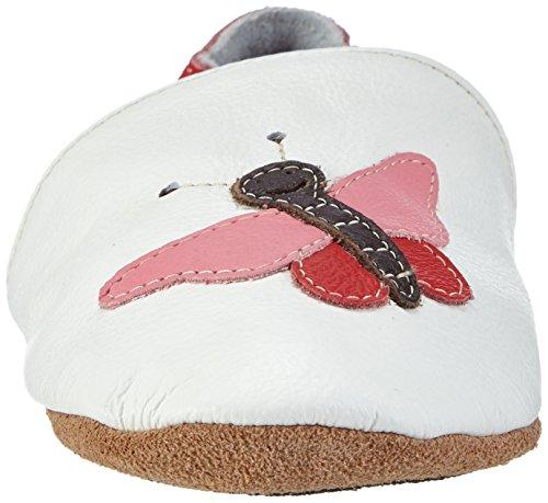 HOBEA-Germany Lauflernschuhe Schmetterling Pauline Weiß (Weiß)