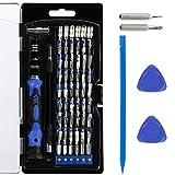 Zacro 63 in 1 Schraubendreher Set mit 56 Bits Magnetische Schraubendrehersatz Werkzeugset für Smartphone, Iphone 7, Iphone 7 Plus, Handy, Tablet, PC, Macbook