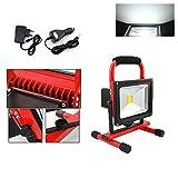 Hengda® LED AKKU Fluter IP65 Arbeitslampe Tragbar Wasserdicht Flutfest Wiederaufladbar