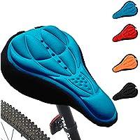 Generic ciclismo 3d silicona Gel grueso suave cojín bicicleta de montaña sillín de bicicleta asiento Pad