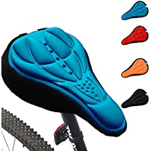 Funda para cojín de gel suave fuerte de silicona 3D para bicicleta de montaña almohadilla, 4 colores a elegir, de Generic Cycling,
