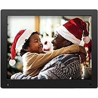 NIX Advance Digitaler Bilderrahmen 15 Zoll X15D. HD Display. Elektronischer Fotorahmen mit Uhr/Kalender-Funktion. Auto On/Off (Hu-Motion Sensor). Inkl. 8GB USB-Stick und Fernbedienung