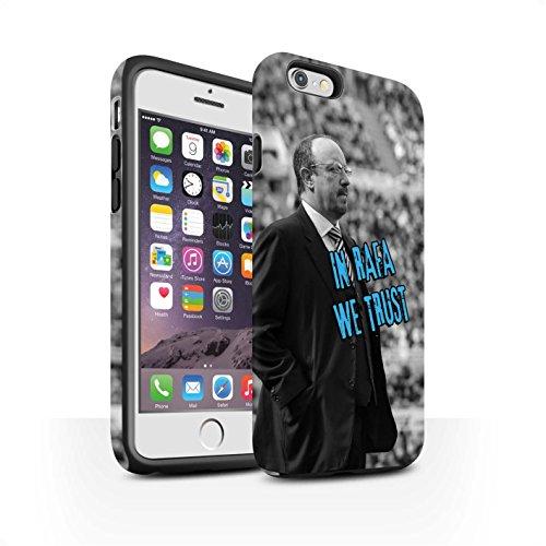 Offiziell Newcastle United FC Hülle / Matte Harten Stoßfest Case für Apple iPhone 6S / Pack 8pcs Muster / NUFC Rafa Benítez Kollektion Wir Vertrauen
