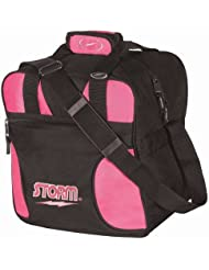 Storm Solo Single Tote Black/Pink by Storm