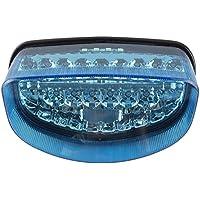 gzyf LED Piloto Trasero Intermitente Azul para Honda CBR 1100X X 1997–1998suzuki GS500E 99–02