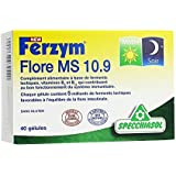 Ferzym Flore MS 10.9 Matin et Soir - Ferments - Equilibre de la Flore - Sans Gluten - 40 Gélules - Specchiasol