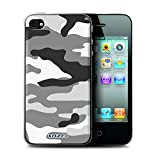STUFF4 Phone Case / Cover for Apple iPhone 4/4S / White 2 Design