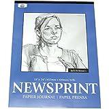 Jack Richeson 100307 Smooth Surface Newsprint Pad 18 X 24 100 Sheet