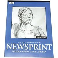 Jack Richeson CityRIDE Glatte Oberfläche Newsprint Pad 18x 24100Blatt