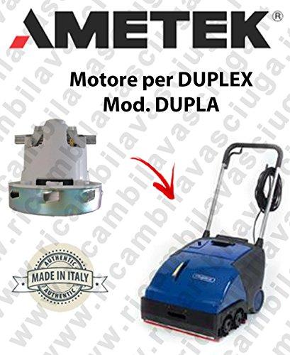 Dupla Motor Ametek Einlassventil für Bodenwischer Duplex -