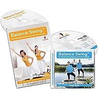 Balance Swing - Kombi Angebot: DVD + Musik CD (Balance Swing Vol. 04) für das Workout auf dem Mini-Trampolin