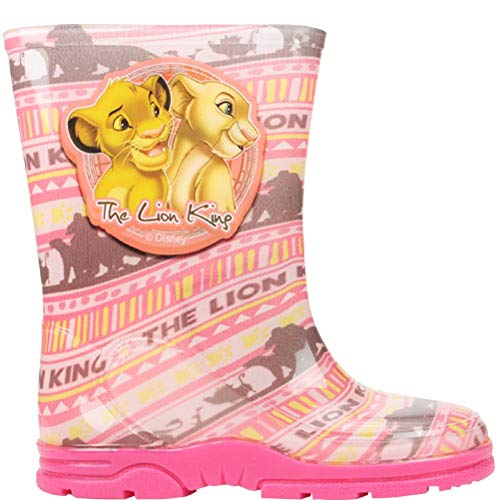 GladRags Girls Wellington Boot Lion King Wellies Size 6 7 8 9 10 11 12 Infant - Junior
