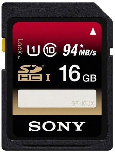 Sony SDHC UHS-I 16GB Memory Card - 94 MB/s