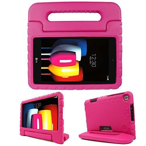Simpleway LG G Pad f/II 20,3cm Tablet Case kinderfreundlich Displayschutzfolie Cover mit Griff und Ständer - Otter Box Nextbook Tasche 8 Tablet