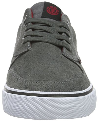 Element Topaz C3 Herren Sneakers, Baskets Basses Homme Gris - Grau (18 Charcoal)